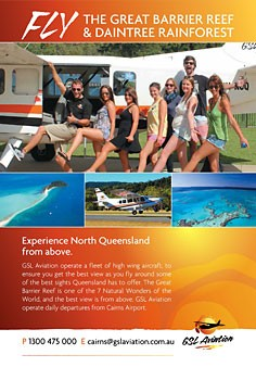 Cairns Scenic Flights and Air Charter